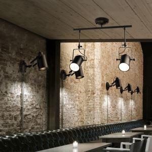 (EU Lager)Landhaus Strahler 2-flammig Malerei im Wohnzimmer Kaufhaus