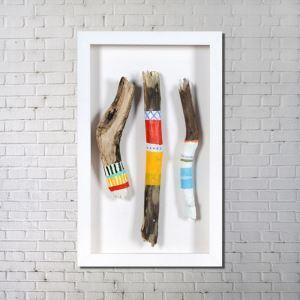 Leinwandbild Holz Fun Digitaldruck ohne Rahme-D