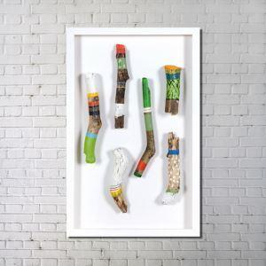 Leinwandbild Holz Fun Digitaldruck ohne Rahme-F