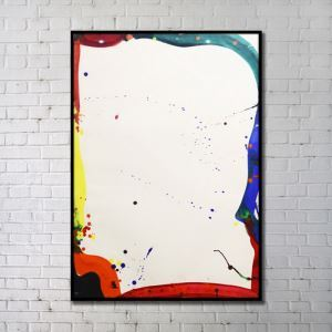 Leinwanddruck Abstrakt Digitaldruck ohne Rahme-C