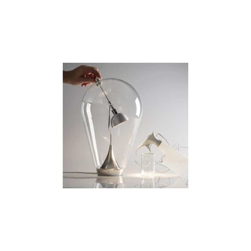 kaufen design tischleuchte modern aus glas gl hlampe design mit g nstigem preis. Black Bedroom Furniture Sets. Home Design Ideas