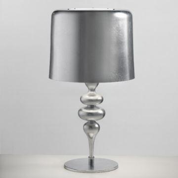 kaufen sch ne tischleuchte modern design chrom mit g nstigem preis. Black Bedroom Furniture Sets. Home Design Ideas