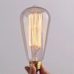 (EU Lager)40W E27 Vintage Leuchtmittel Halogenlampe