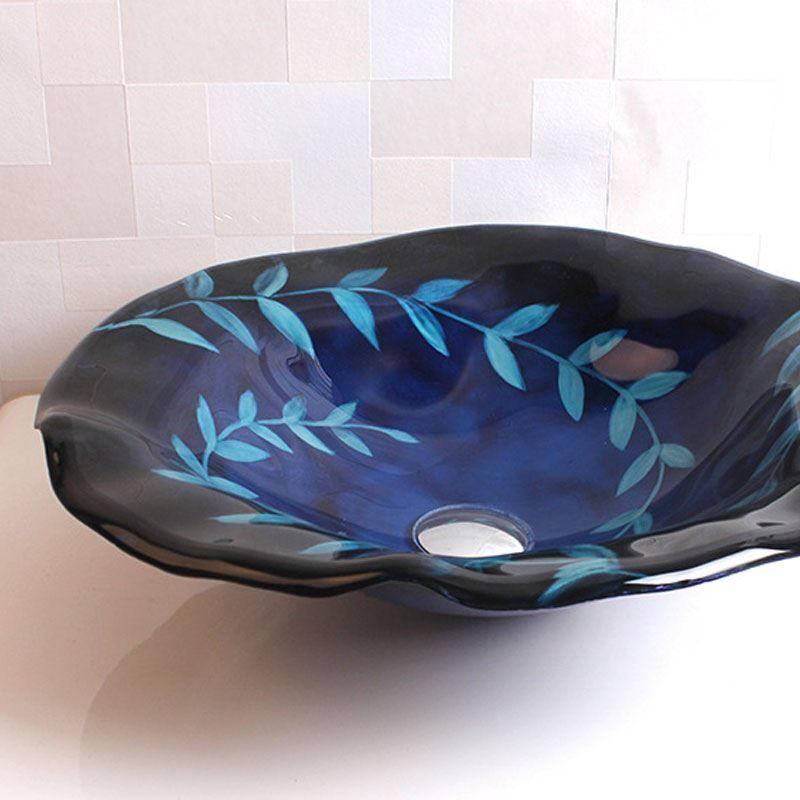 Waschbecken Blau armaturen - waschbecken & armaturen sets - einzel waschbecken - (eu