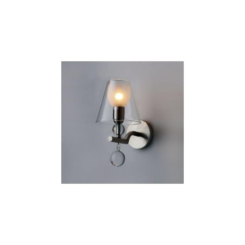 (EU Lager)Glas Wandleuchte Design Kristall Modern 1-flammig