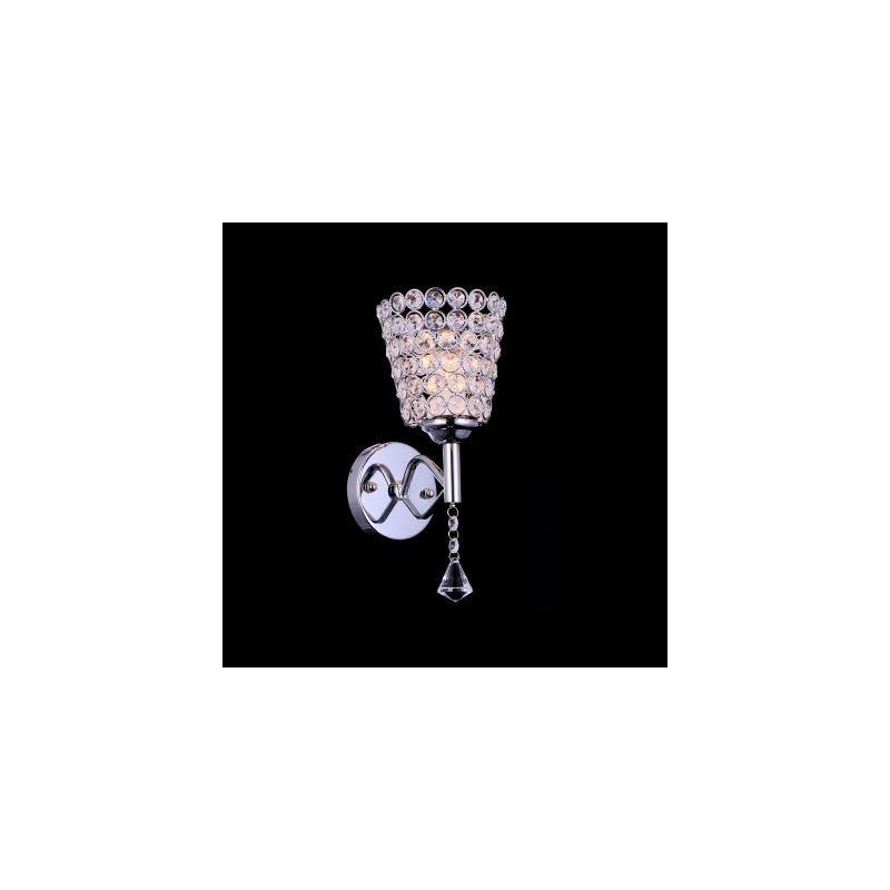 (EU Lager)Moderne Wandleuchte Kristall Chrom Tee-Tasse Design 1-Flammig