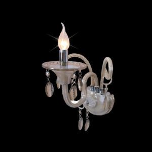 (EU Lager)Elegante Wandleuchte Kristall Kerzen Design 1-Flammig