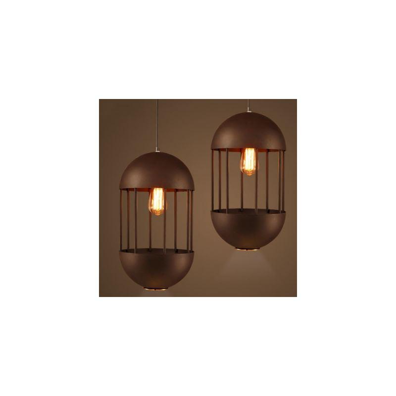 landhaus pendelleuchte aus metall oval 1 flammig mit g nstige preis kaufen. Black Bedroom Furniture Sets. Home Design Ideas