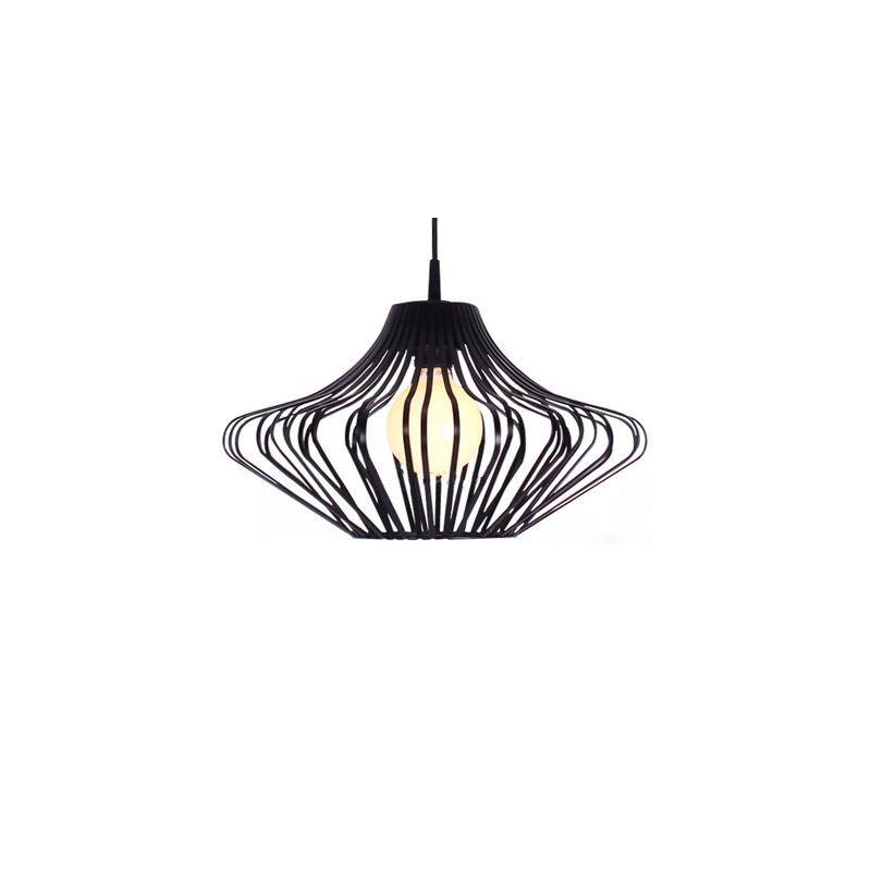 h ngeleuchte industrie stil latern design schwarz 1 flammig mit g nstige preis kaufen. Black Bedroom Furniture Sets. Home Design Ideas