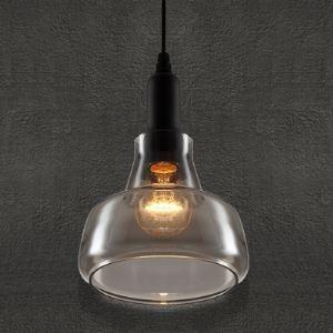 (EU Lager)Glas Pendelleuchte Vintage Stil Design 1-Flammig