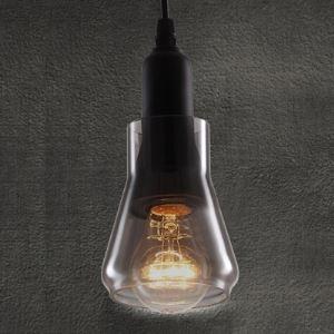 (EU Lager)Schöne Pendelleuchte Glas Industrie Stil 1-Flammig