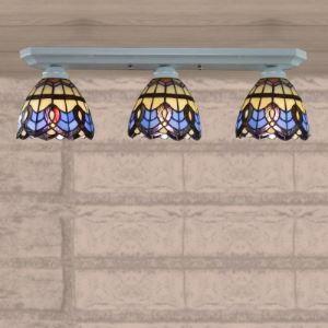 (EU Lager)Deckenleuchte im Tiffany Stil 3-Flammig