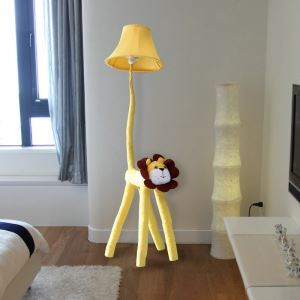 (EU Lager)Moderne Stehlampe Cartoon Löwe Design im Kinderzimmer