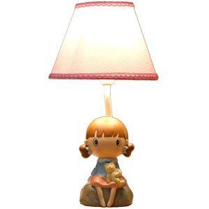 (EU Lager)Tischlampe Modern Cartoon Mädchen Design im Kinderzimmer
