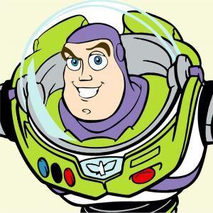 (EU Lager)Malen nach Zahlen Cartoon Buzz Lightyear von Toy Story DIY Handgemaltes Digital Ölgemälde 20*20 cm