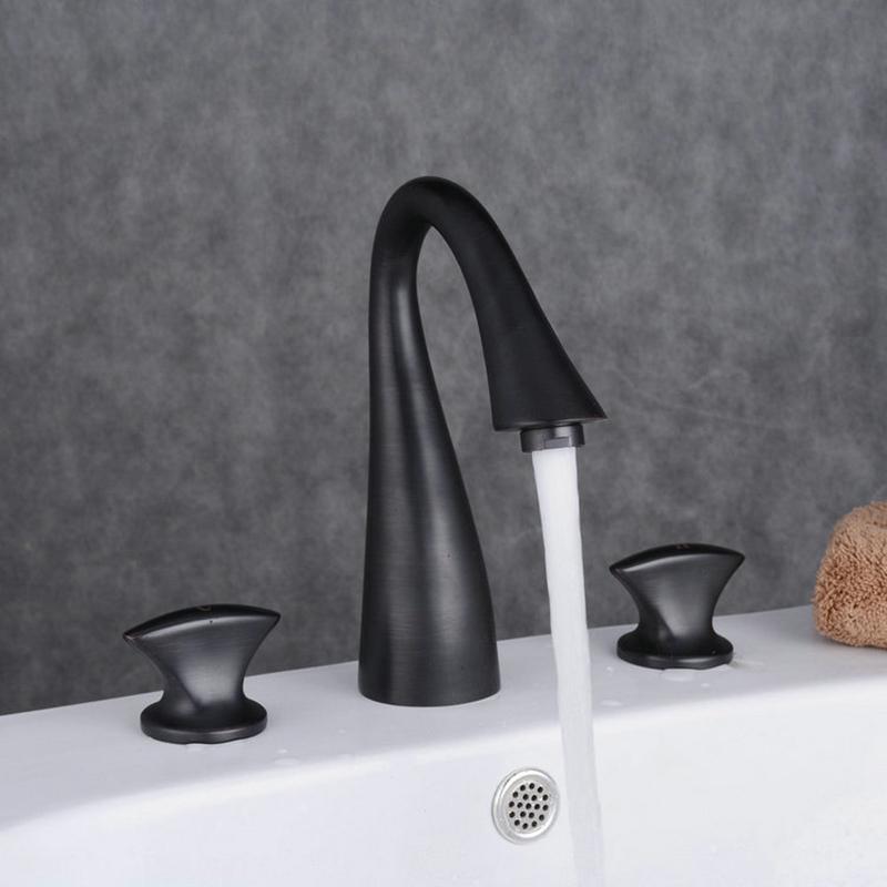 waschtischarmatur bad zweihebel schwarz. Black Bedroom Furniture Sets. Home Design Ideas