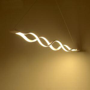 (EU Lager)Moderne Pendelleuchte Led Welle Design