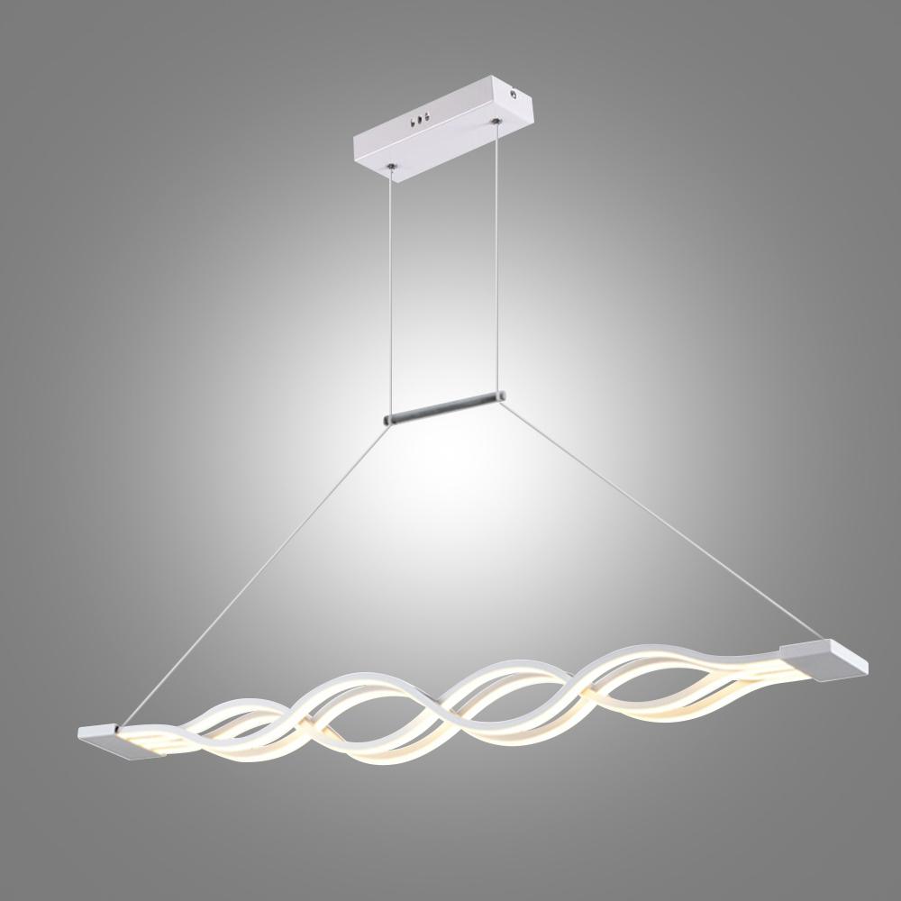 led h ngeleuchte modern welle design. Black Bedroom Furniture Sets. Home Design Ideas
