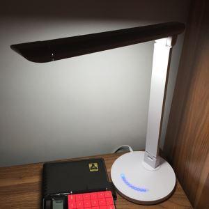 (EU Lager)Moderne Led Schreibtischlampe Klappbar Leselampe