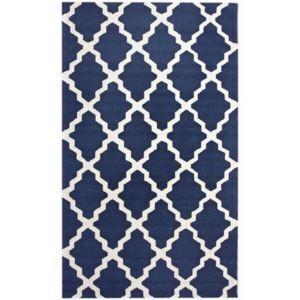 (EU Lager)Teppich Modern Geometrisch Design aus Polypropylen im Wohnzimmer-A