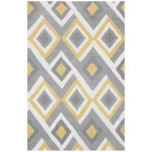 (EU Lager)Teppich Sofa Modern Geometrisch Design aus Polypropylen-A