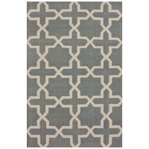 (EU Lager)Moderner Teppich Geometrisch Design aus Polypropylen im Wohnzimmer-B