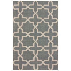 (EU Lager)Moderner Teppich Geometrisch Design aus Polypropylen im Wohnzimmer-D