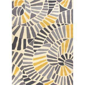 (EU Lager)Moderner Teppich Geometrisch Design aus Polypropylen-D
