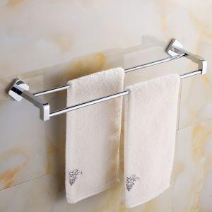 (EU Lager)Handtuchhalter Bad Handtuchstange Modern Chrom