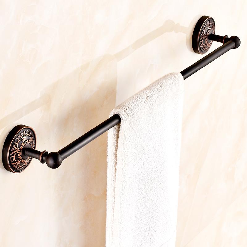 handtuchstange einarmig handtuchhalter bad schwarz. Black Bedroom Furniture Sets. Home Design Ideas