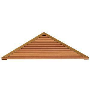 (EU Lager)Eckablage Dusche Badablage aus Holz