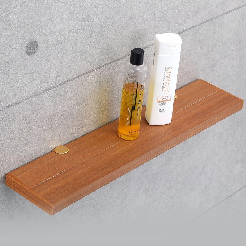 ablage holz badablage badzubeh r wandmontage. Black Bedroom Furniture Sets. Home Design Ideas