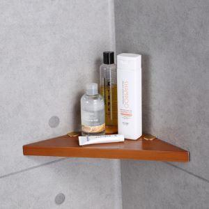 (EU Lager)Eckablage Dusche Badregal Badezimmer aus Holz