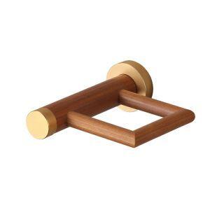 (EU Lager)Zahnputzbecherhalter Einzeln Bad aus Holz