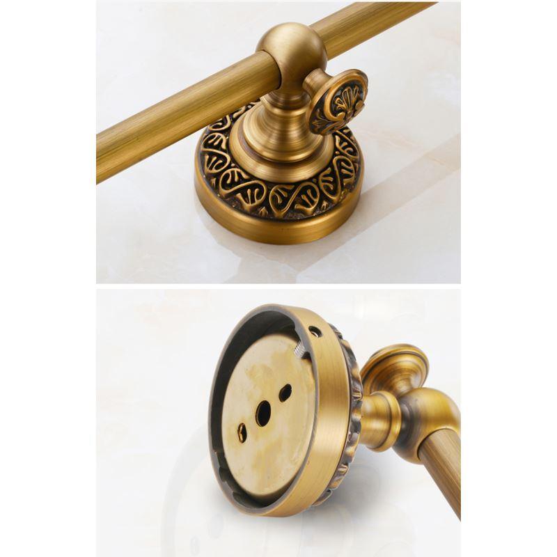 handtuchstange antik messing handtuchhalter bad wandmontage. Black Bedroom Furniture Sets. Home Design Ideas