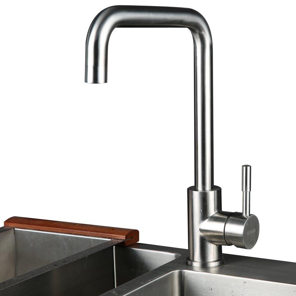Armaturen - Küchenarmaturen - Nickel gebürstet Küchenarmaturen - (EU ...