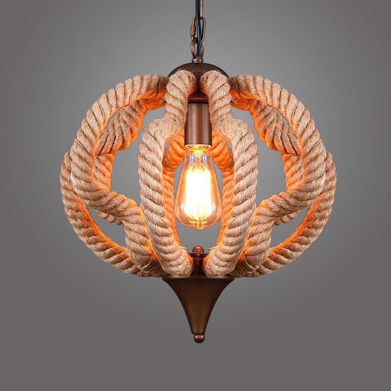 1 flammige pendelleuchte im landhausstil aus eisen k rbis design. Black Bedroom Furniture Sets. Home Design Ideas