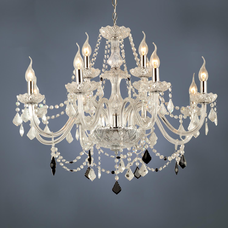 Anspruchsvoll Kronleuchter Kristall Modern Foto Von Ausverkauft - (eu Lager)12 Flammiger Kerzen Design