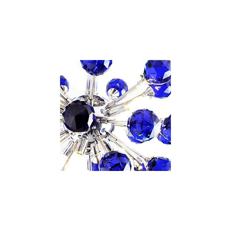 ausverkauft eu lager 6 flammige florentine k9 kristall deckenleuchte blau 0942 98004 c 6 b. Black Bedroom Furniture Sets. Home Design Ideas