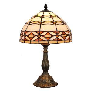 (EU Lager)Exklusive Tischleuchte Tiffany Stil D30cm 1-flammig