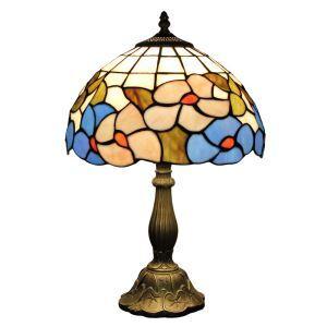 (EU Lager)D30cm Dekorative Tischleuchte Tiffany Stil 1-flammig