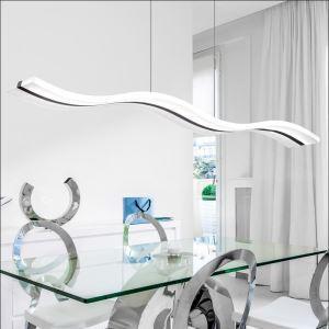 (EU Lager)Versandkostenfrei Modern LED Pendelleuchte Kaltweiß im Wohnzimmer