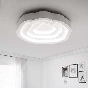 (EU Lager)Versandkostenfrei LED Deckenleuchte Kaltweiß Modern Acryl Weiß 52cm