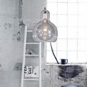 (EU Lager)Versandkostenfrei Moderne Pendelleuchte Transparent Glas 1-flammig