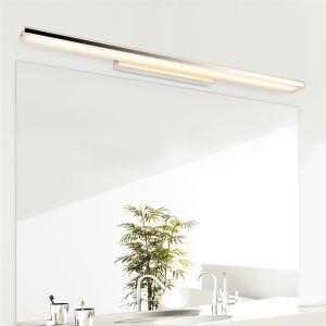 (EU Lager)Versandkostenfrei LED Spiegelleuchte Wandleuchte Modern 12W Warmweiß Chrom mit Acryl Schirm