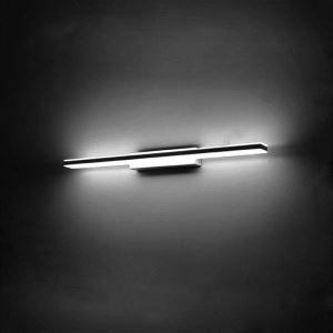 (EU Lager)Versandkostenfrei 12W LED Spiegelleuchte Wandleuchte Kaltweiß Modern Chrom mit Acryl Schirm