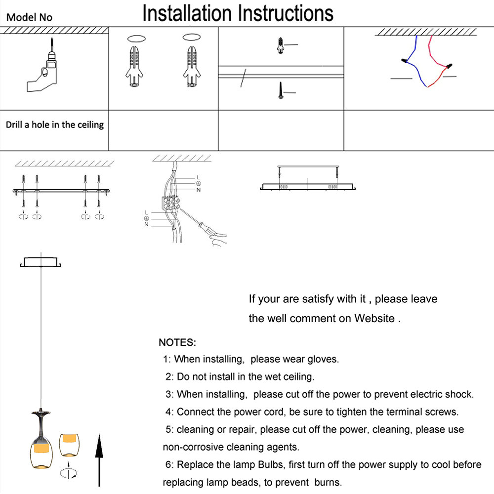 Beleuchtung - Pendelleuchten - (EU Lager)LED Mini Pendelleuchte ...