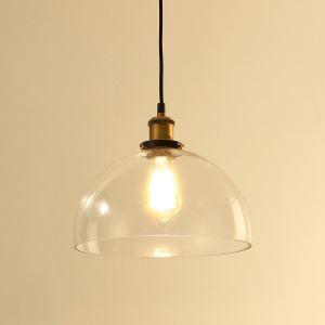 (EU Lager)Moderne Pendelleuchte Glas Transparent 1 Flammig