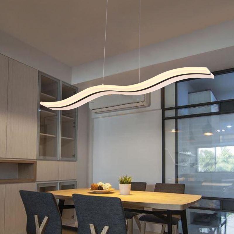 (EU Lager) LED Pendelleuchte Modern Stilvoll Aus Acryl Im