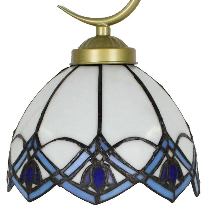 Beleuchtung - Tischleuchten - Tiffany Tischleuchte D20cm Blaue ...